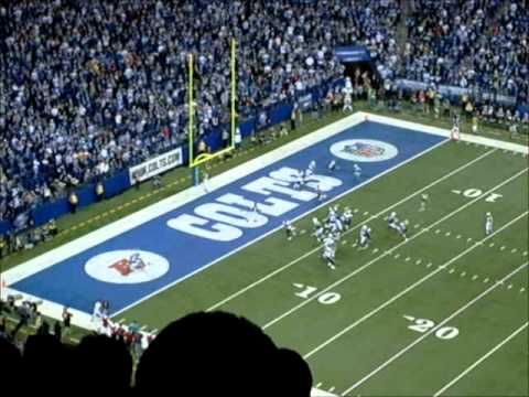 12/22/11 - Colts/Texans - Winning Touchdown