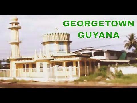 GUYANA - Driving Along The East Bank Demerara - Georgetown Guyana