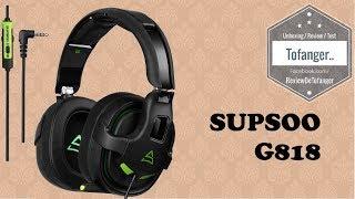 SUPSOO G818 : Un casque Gamer pas cher..