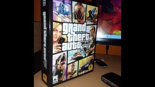 Unboxing GTA V PC Indonesia