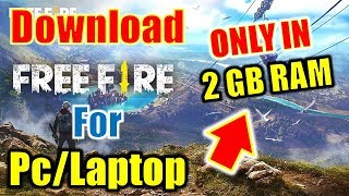 How To Download Free Fire On Pc And Laptop | Run Free Fire On Pc Without Emulator.