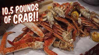 $350 Crab Legs Royal Feast Seafood Challenge in Seattle!!