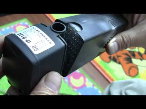 Review/Instruction For Sunsun 3 In 1 Aquarium Filtration Pump And Aerator