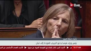 رئيس وزراء فرنسا يدعو سعد الحريري للعودة إلى لبنان