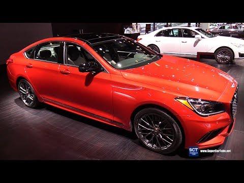 2018 Genesis G80 Sport Exterior and Interior Walkaround 2018 Chicago Auto Show