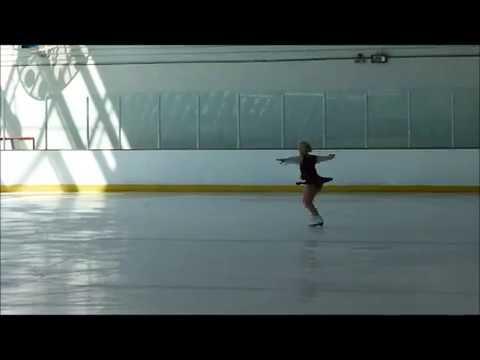 Patinage artistique adulte Odile Garonnaire Coupe de France 2012