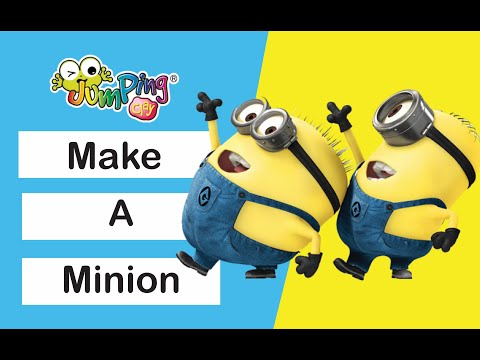 Jumping Clay Tutorial How To Make A Despicable Me Minion
