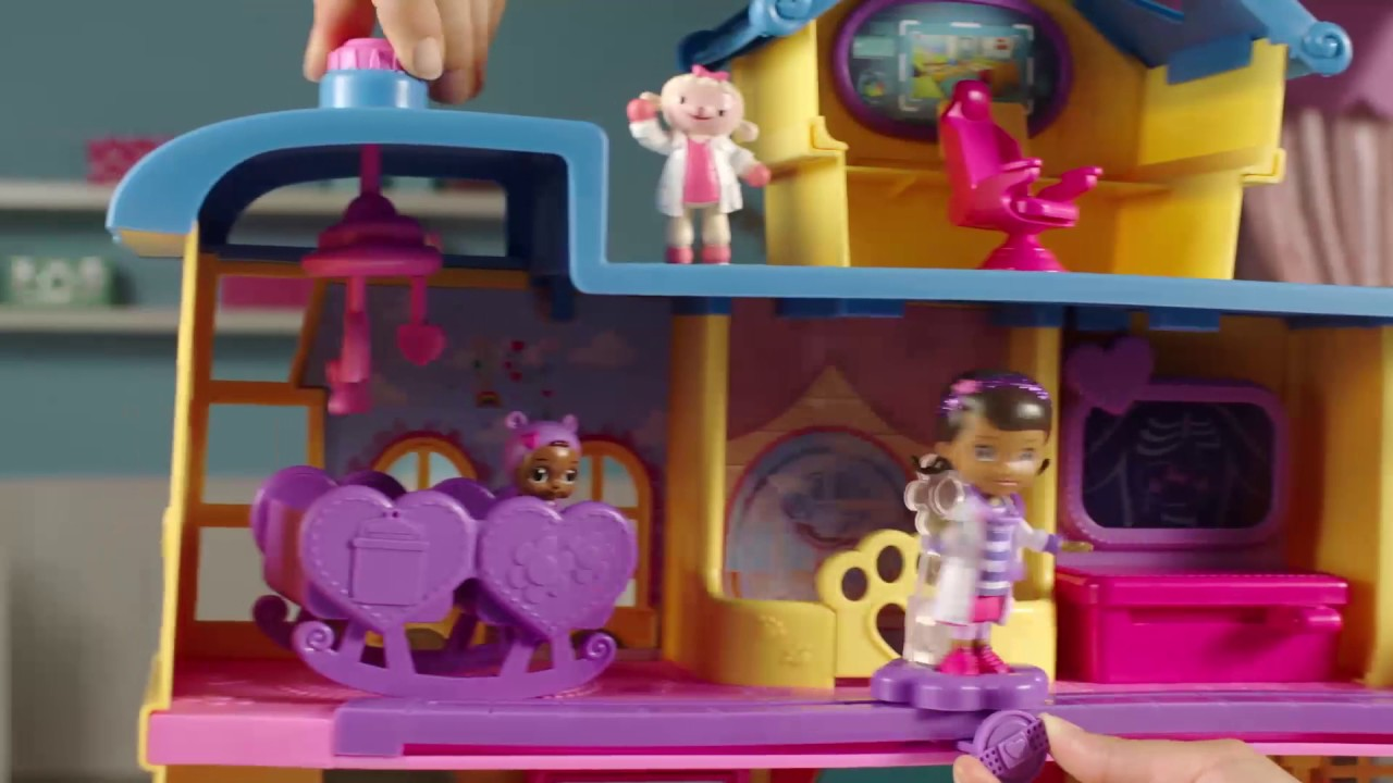 Doc Mcstuffins Toy Hospital Playset Official Tv Commercial