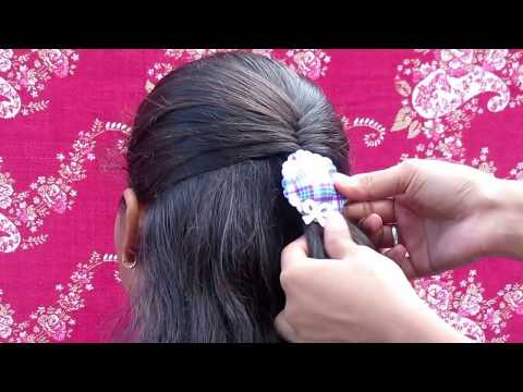 Easy Fishtail hairstyle || 2 min fishtail hairstyle for collage girls