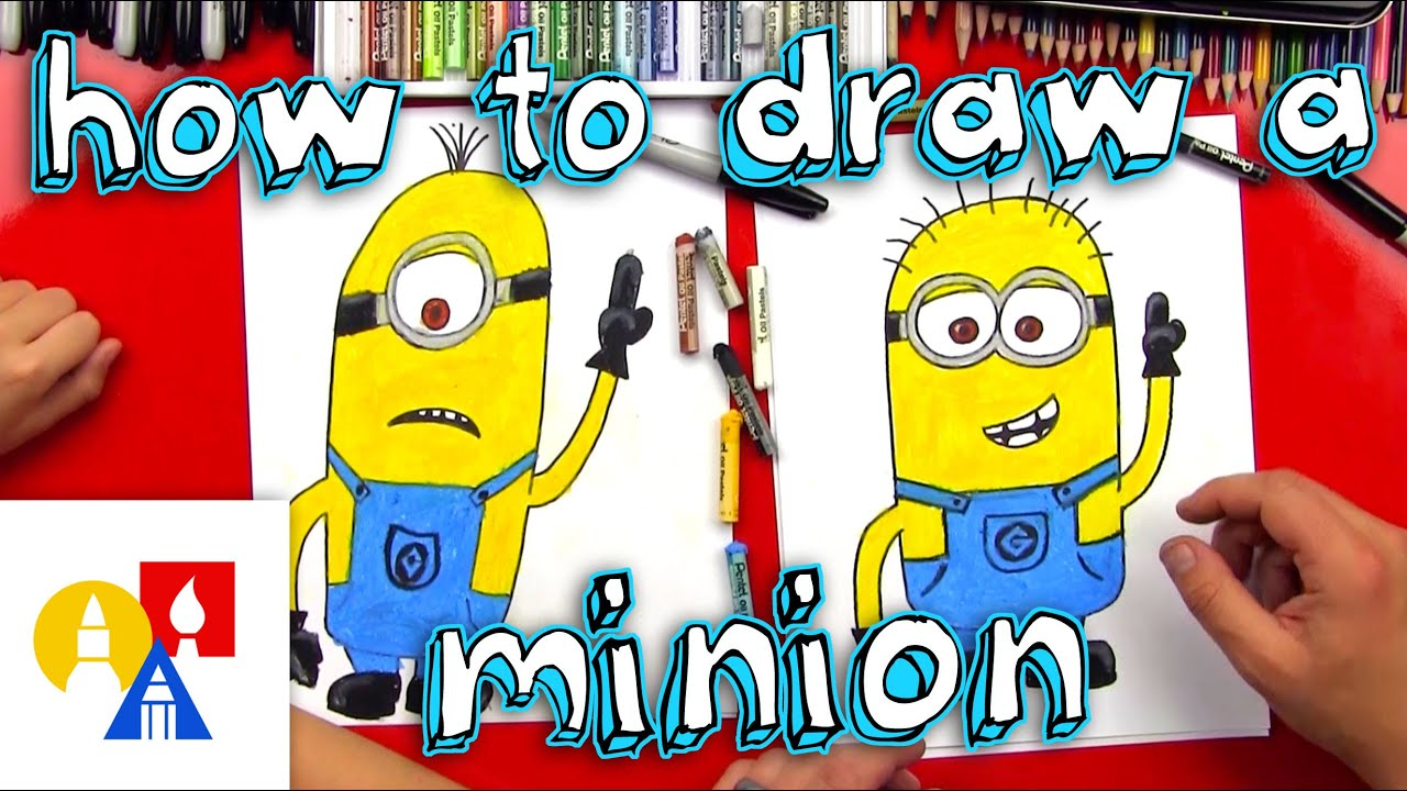Show me how to draw a minion - Show Me How To Draw A Minion 15