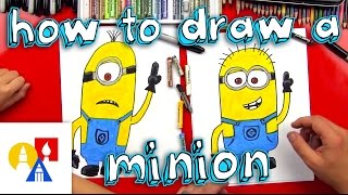 minions drawing lesson