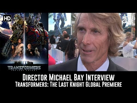 Director Michael Bay Transformers: The Last Knight Premiere Interview