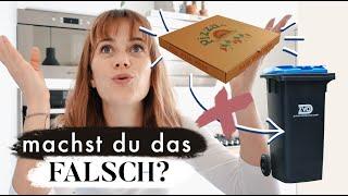Wie werden Pizzakartons entsorgt? - Wussten wir nicht! | MANDA Vlog