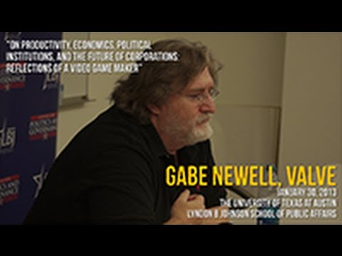 Gabe Newell: On Productivity, Economics, Political Institutions, and the Future of Corporations