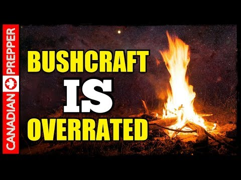 Bushcraft VS Actually Getting Things Done!