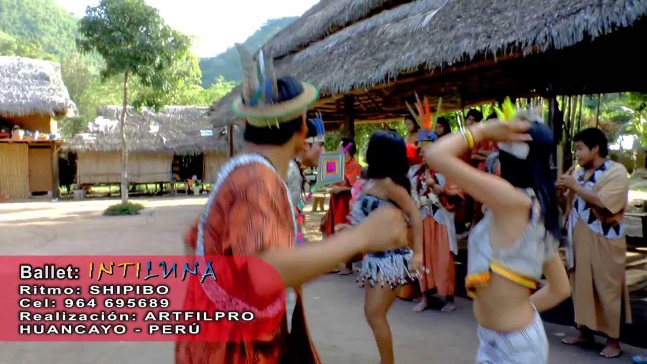 el baile del shipibo