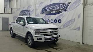 2019 Ford F-150 SuperCrew Lariat Sport 502A W/ 3.5L EcoBoost, Leather Overview | Boundary Ford