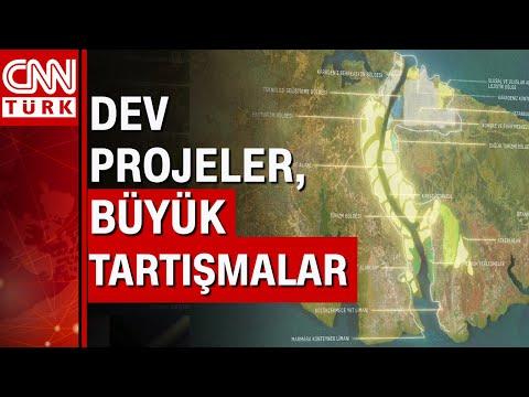 Dünyadaki 10 büyük projeden 6'sı Türkiye'de! CNN Türk tek tek mercek altına aldı