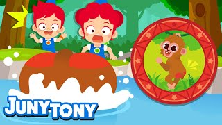 Why Do Monkeys Have Red Bottoms | Curious Songs for Kids | Wonder Why Preschool Songs | JunyTony