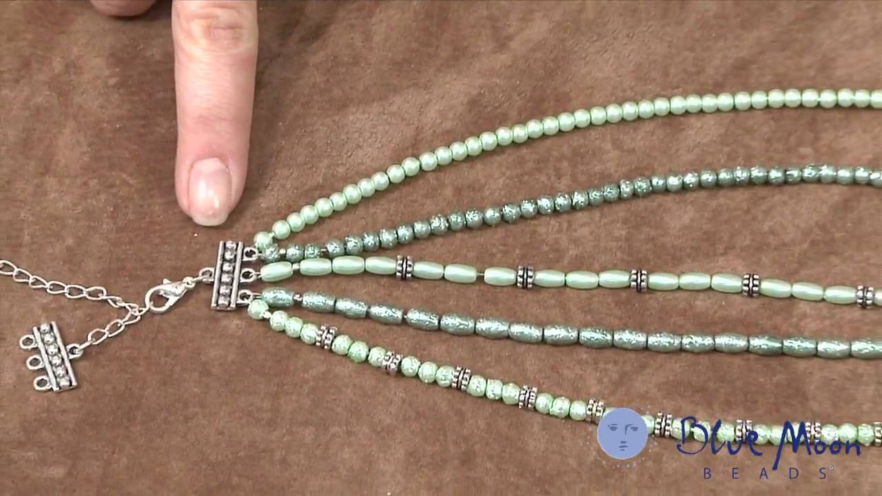 How To Make A Multistrand Necklace