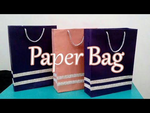 DIY | How to make Paper Bag for Gift | Carry Bag | Bharti's Creative Art And Craft