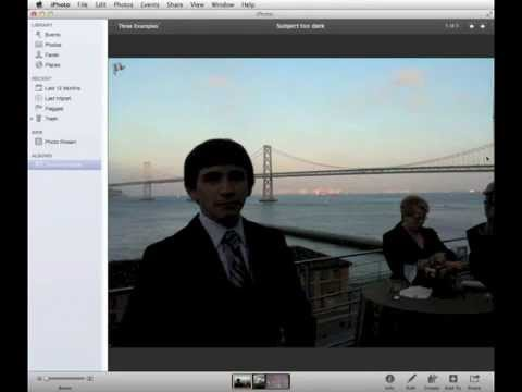 how to fix overexposed part of photo