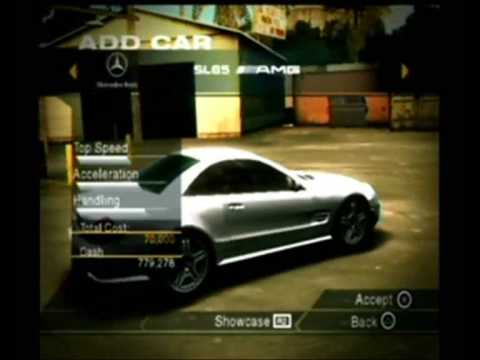 Need for Speed Undercover PS2 All Cars part 3 - YouTube