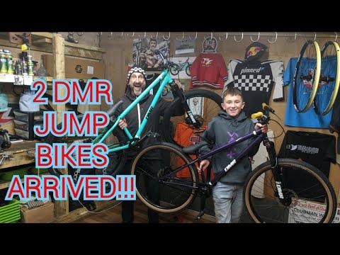 2  DMR JUMP BIKES ARRIVED!!!