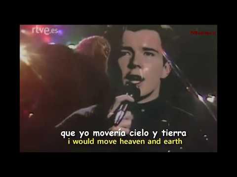 Rick Astley - Together Forever [Lyrics y Subtitulos en Español]