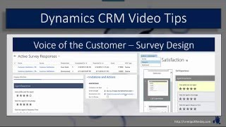 CRM 2016: Voice of the Customer - Question Design