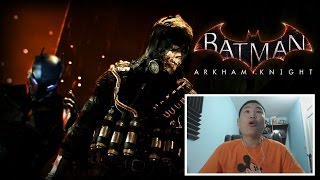 Batman Arkham Knight - Gotham is Mine Trailer! [unCAGEDgamez Reaction]