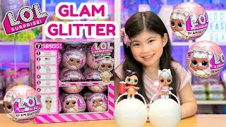 L.O.L. SURPRISE GLAM GLITTER SERIES 2 UNBOXING | ULTRA RARE KITTY QUEEN + THE QUEEN FOUND! FULL CASE