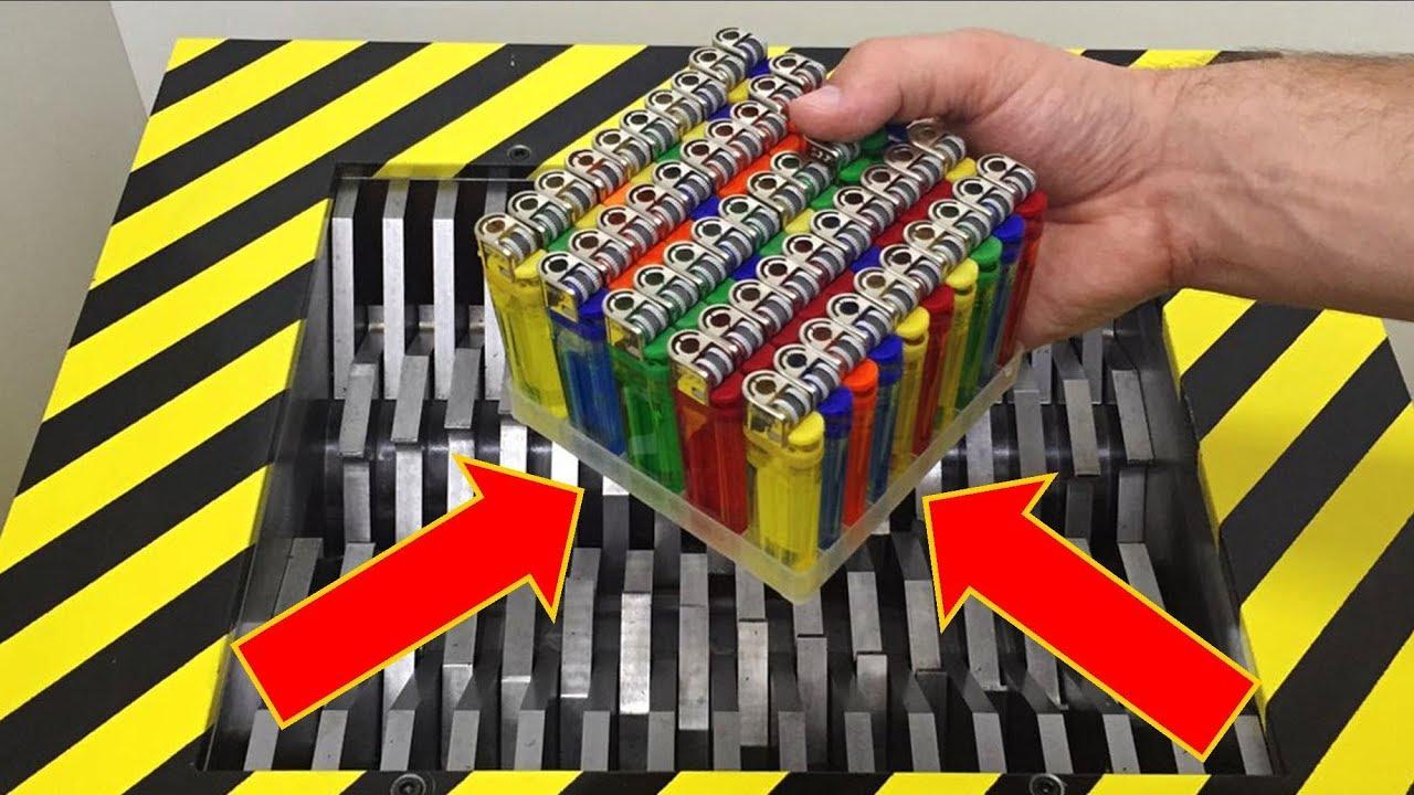 Download EXPERIMENT Shredding 50 Lighters