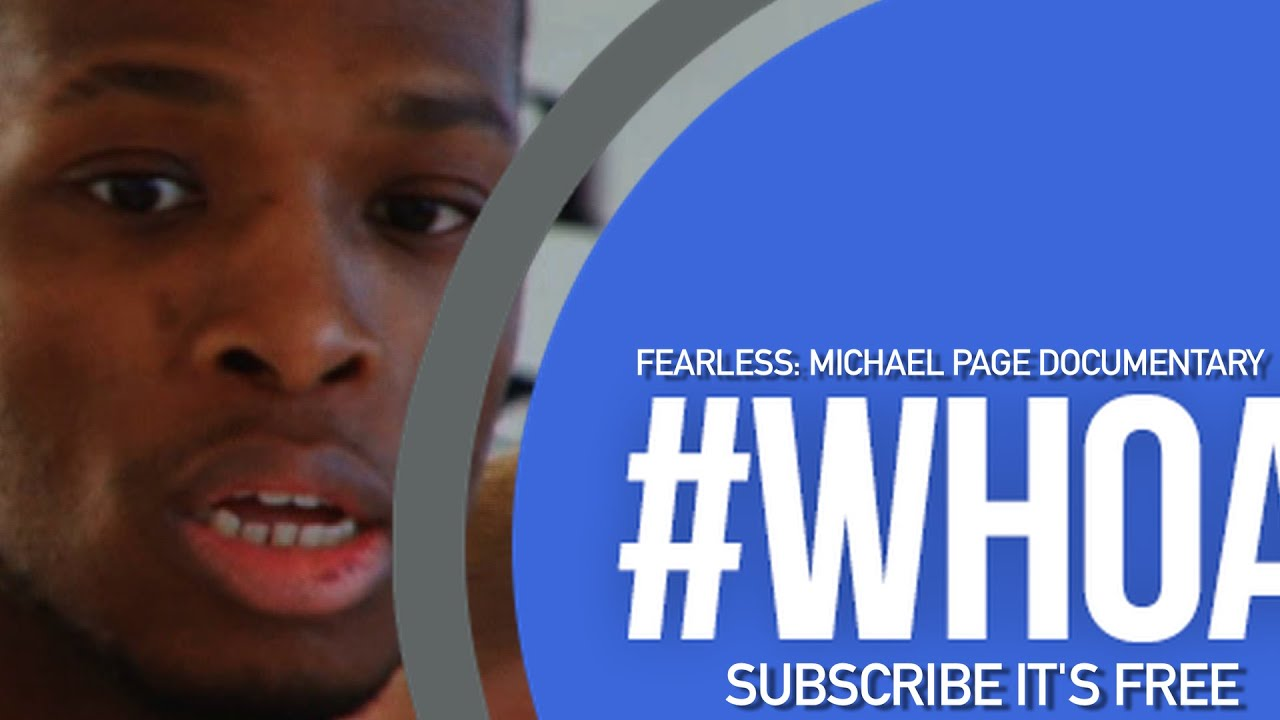 FEARLESS: Michael Page mini documentary