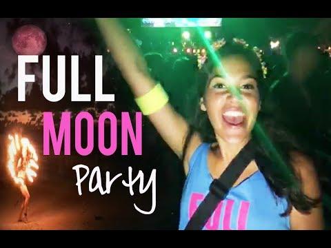 FULL MOON PARTY 2017 | Thailand, Koh Phangan (#PINKMOON)
