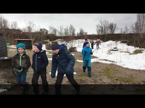 Rakettoppskyting på Børøya