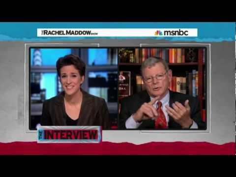 Rachel Maddow Confronts James Inhofe (Part 2/3)