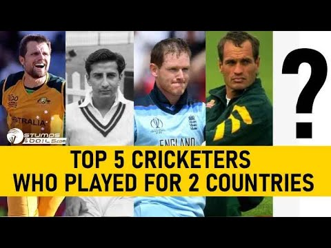 5 Famous Cricketers Who Played For Two Countries | StumpsandBails