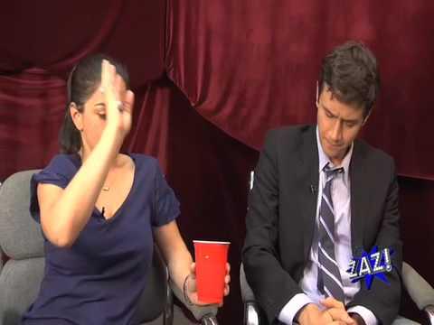 Nadine & Conor Knighton of Current TV's Infomania