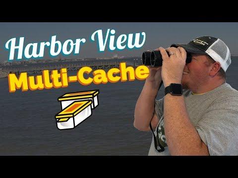 Harbor View Charleston South Carolina Multi-Cache Geocache (GCNW)