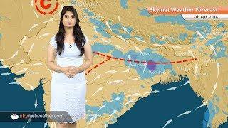 Weather Forecast for Apr 7: Rain in Kolkata, Hyderabad, Delhi; dry weather in Chennai, Mumbai