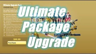Ultimate Package Upgrade / Fortnite Save the World