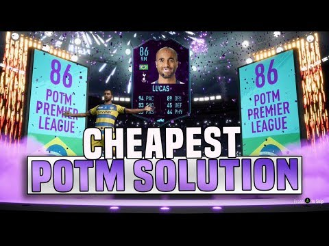 FIFA 19 POTM LUCAS MOURA SBC CHEAPEST SOLUTION! | SQUAD BUILDING CHALLENGE | FIFA 19 ULTIMATE TEAM