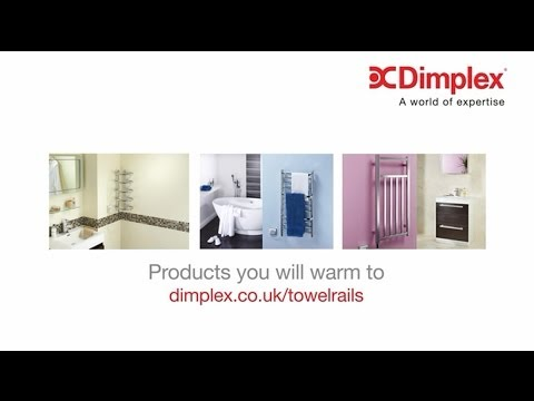Compact Heated Towel Rails from Dimplex