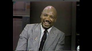 Marvelous Marvin Hagler on Letterman, May 29, 1985