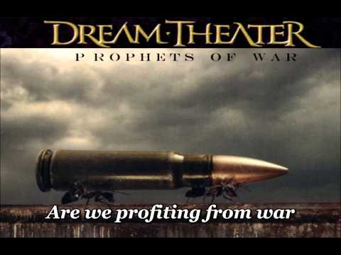Dream Theater - Prophets of war - with lyrics