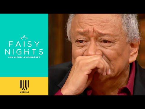Jorge Falcón rompe en llanto al escuchar los mensajes de sus amigos | Faisy Nights | Unicable