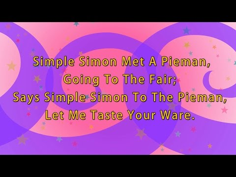 Karaoke Rhyme: Simple Simon