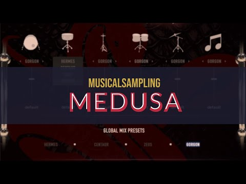 Exploring MusicSampling epic drumkit sample library Medusa