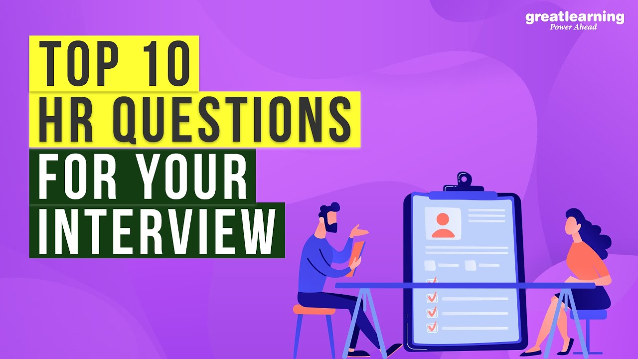 Top 10 HR Questions for your Interview | Interview Questions and Answers